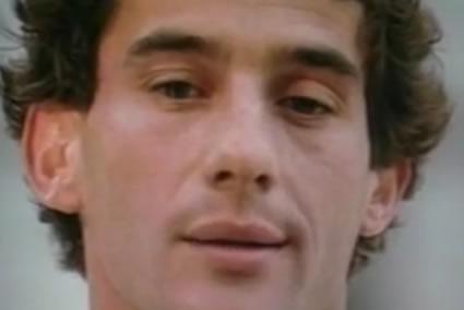 Texto de Ayrton Senna - Um dia você chega lá...
