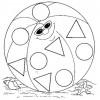 Desenhos de formas geométricas para colorir 03