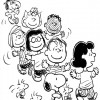 Colorir Snoopy 10