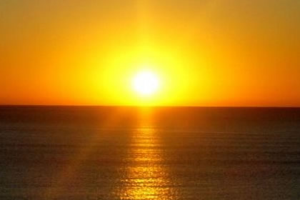 Esperança é o Sol que nasce após uma longa noite escura