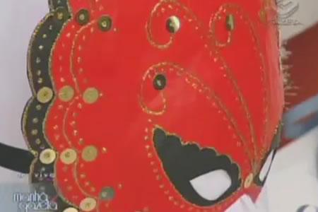 Máscaras Venezianas para o Carnaval - Glória Tommasi