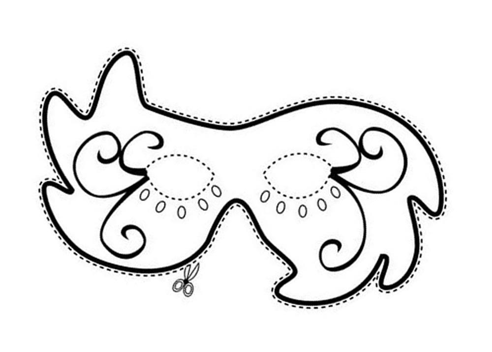 mini jardim jornal hoje : mini jardim jornal hoje:Passo a passo: Aprenda a fazer máscaras de Carnaval em EVA