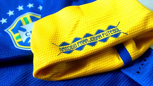 Foto Nova camisa do Brasil - Nike 2012