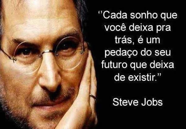 Reflexão Steve Jobs