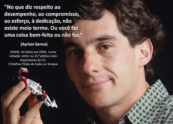 Reflexão Ayrton Senna