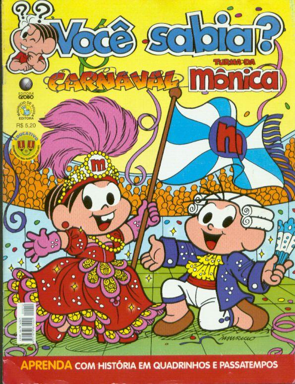 Você Sabia - Turma da Mônica - Carnaval