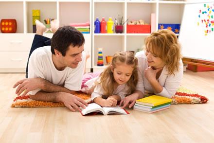 Ajudar na educação dos filhos