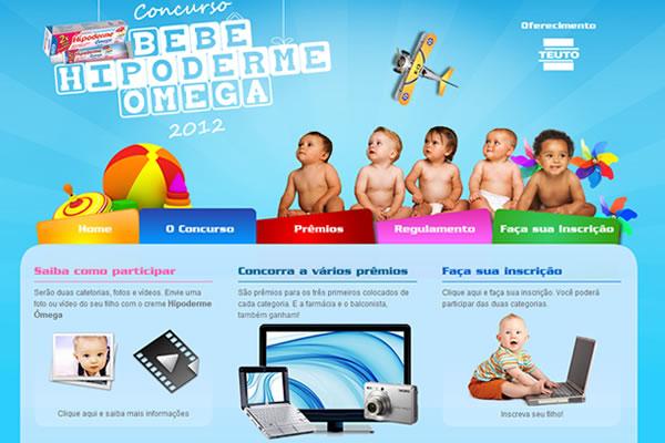 Concurso Bebê Hipoderme Ômega