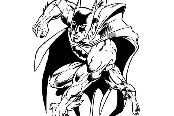 Desenhos colorir de Batman