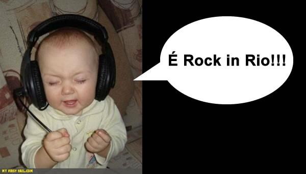 É rock in Rio!