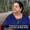 """Mãe Dináh crava: """"Corinthians Campeão da Libertadores 2012"""""""