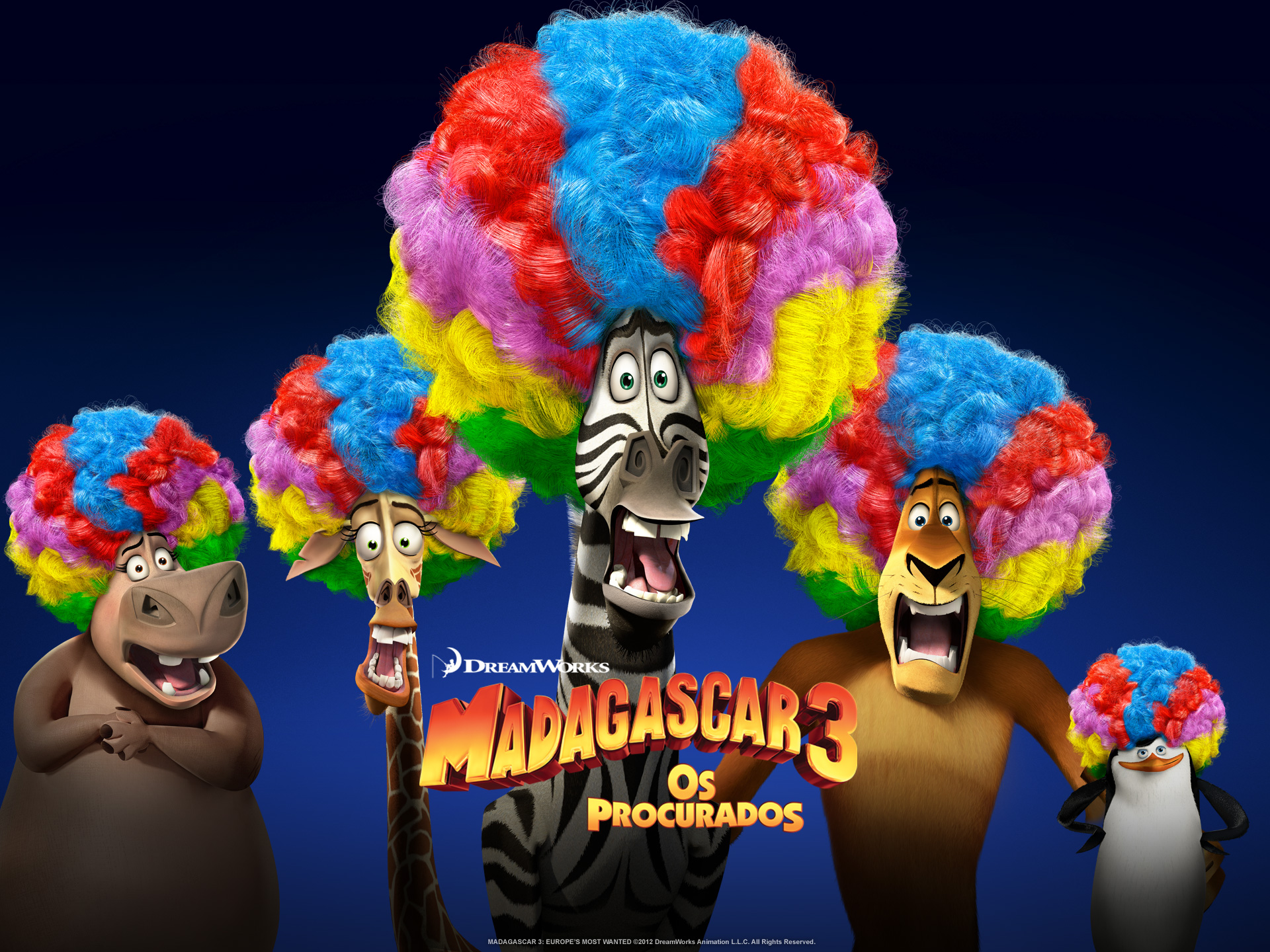 "Wallpapers de ""Madagascar 3: Os Procurados"" 02"