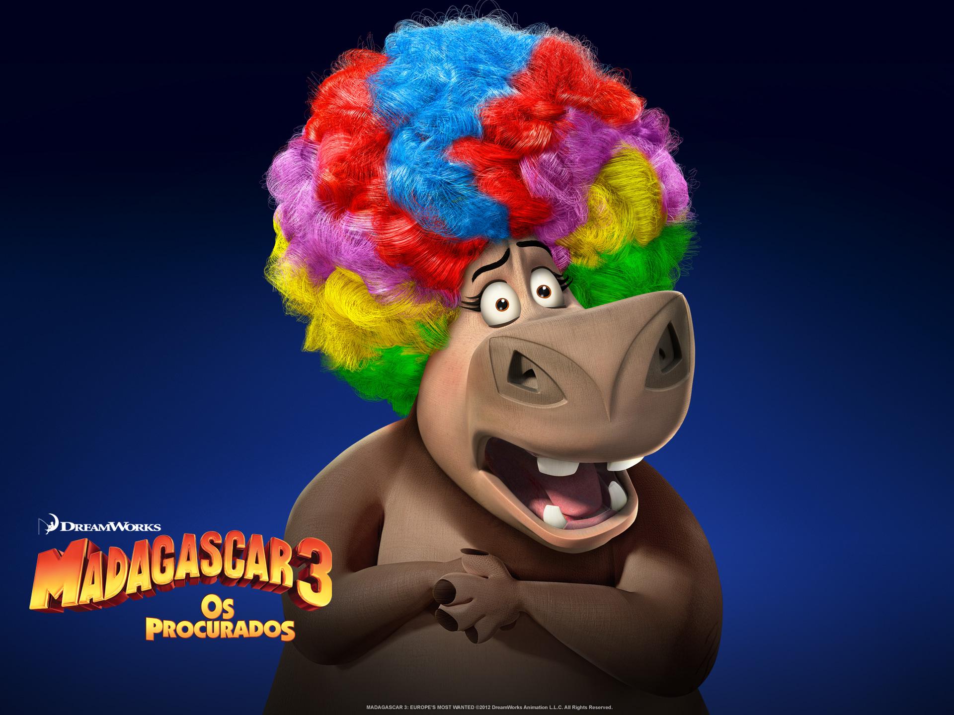 """Wallpapers de """"Madagascar 3: Os Procurados"""" 04"""