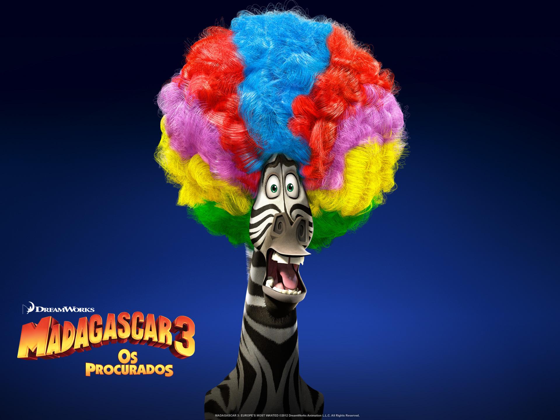 """Wallpapers de """"Madagascar 3: Os Procurados"""" 05"""