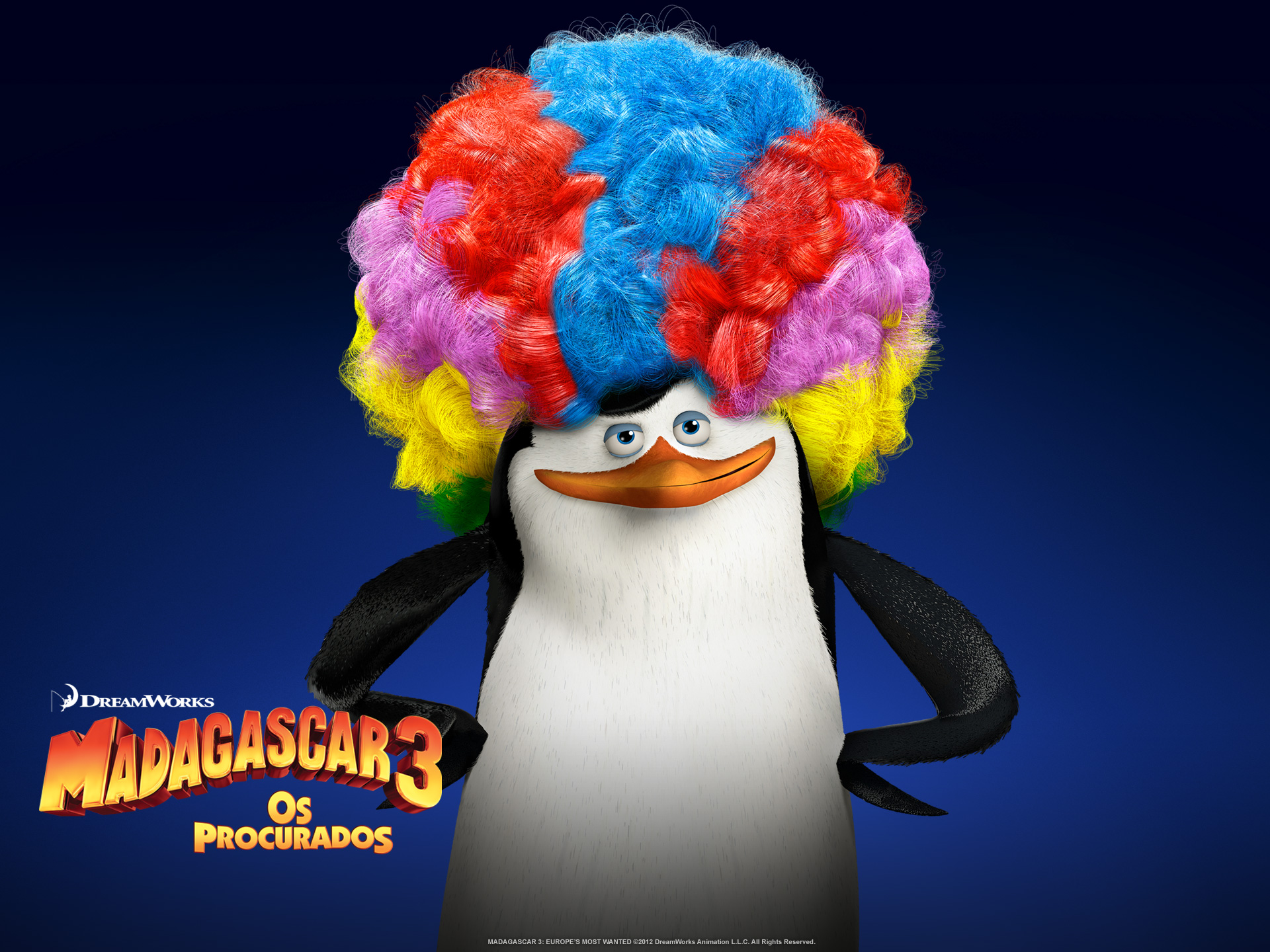 "Wallpapers de ""Madagascar 3: Os Procurados"" 07"