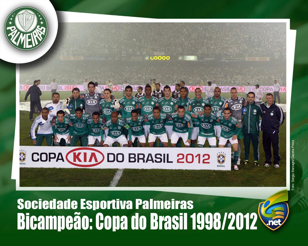 Wallpaper: Palmeiras Campeão da Copa do Brasil 2012 - 01