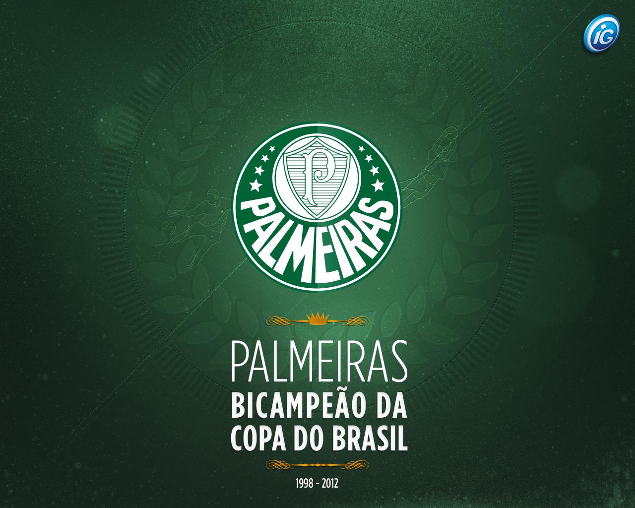 Wallpaper: Palmeiras Campeão da Copa do Brasil 2012 - 03