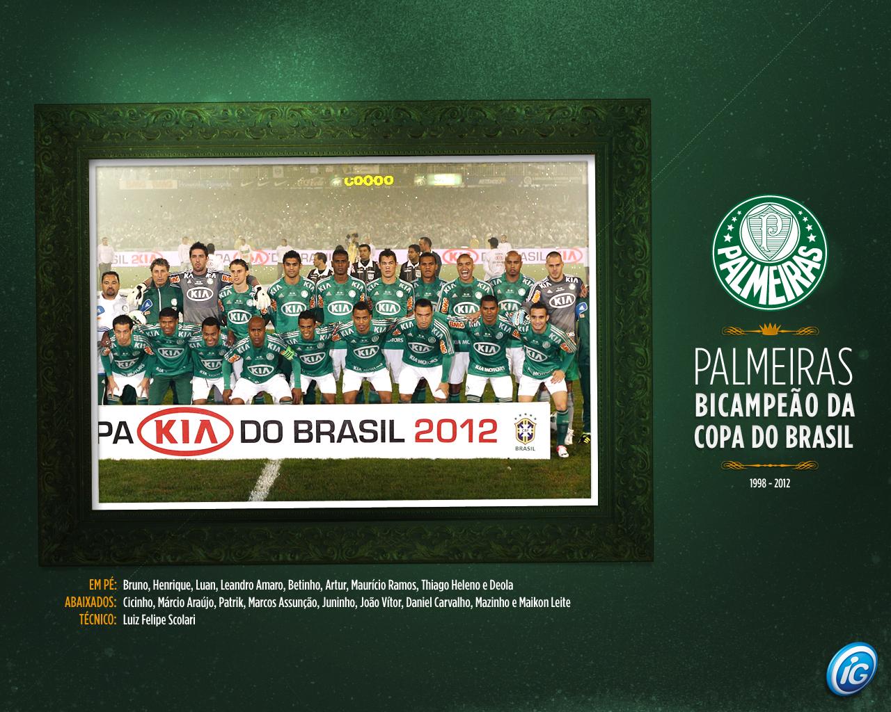 Wallpaper: Palmeiras Campeão da Copa do Brasil 2012 - 04