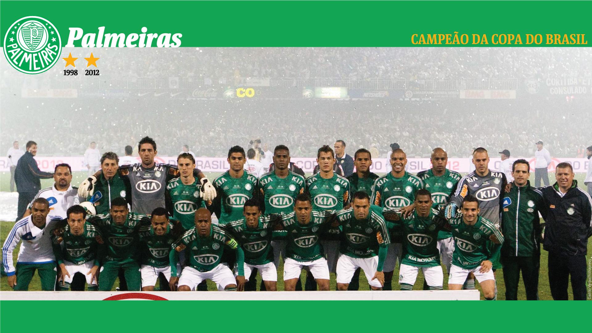 Wallpaper: Palmeiras Campeão da Copa do Brasil 2012 - 06