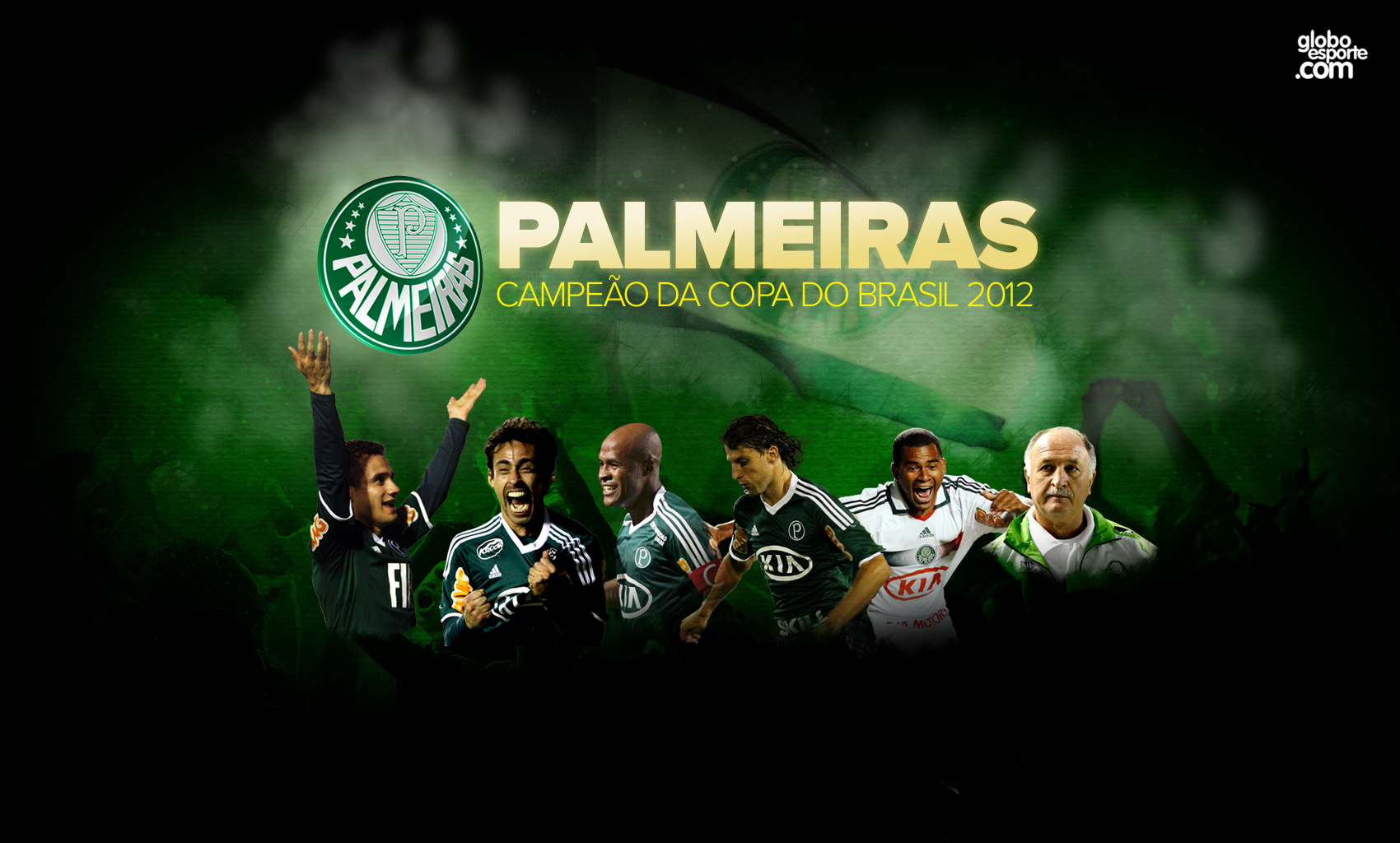 Wallpaper: Palmeiras Campeão da Copa do Brasil 2012 - 07