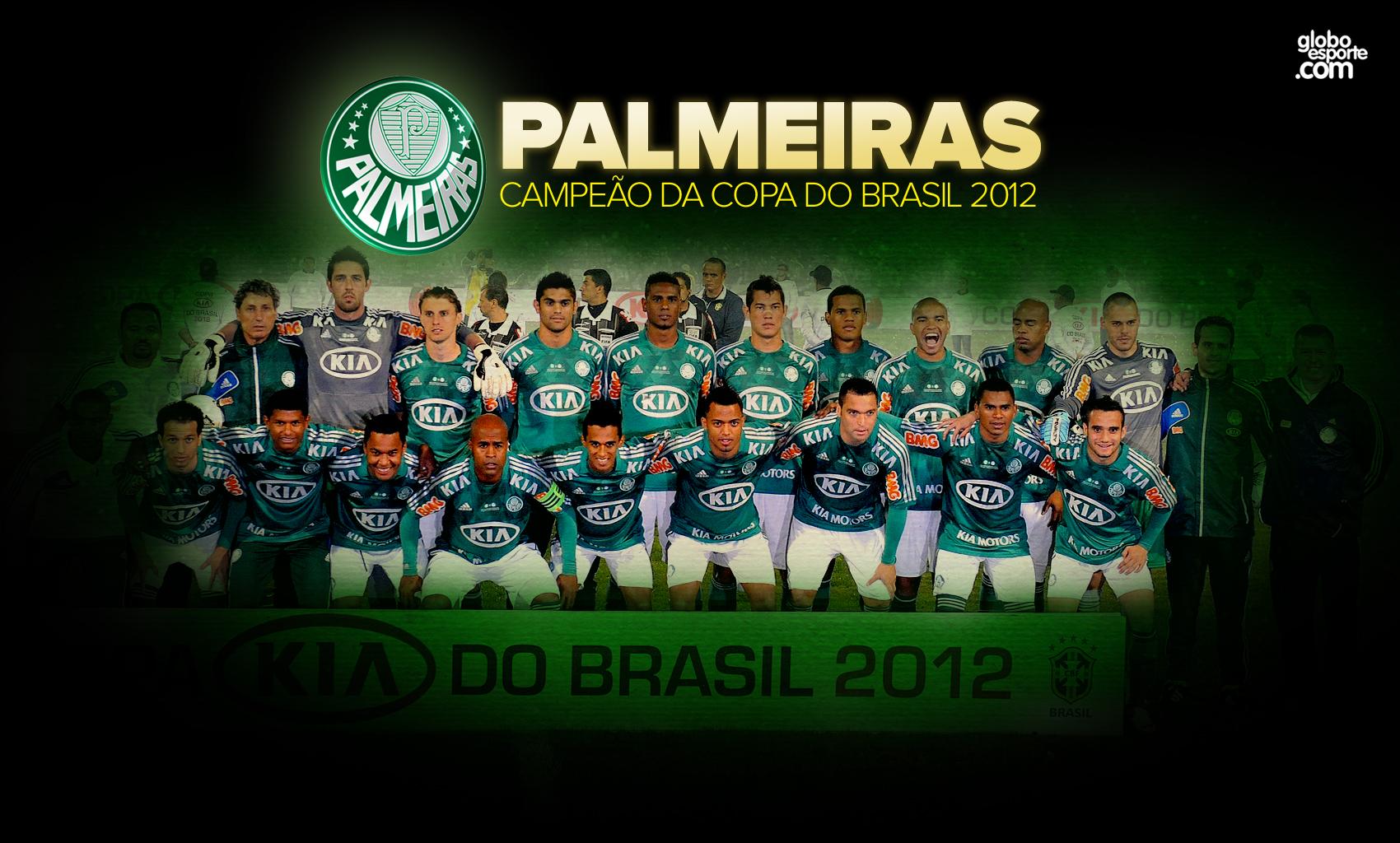 Wallpaper: Palmeiras Campeão da Copa do Brasil 2012 - 08