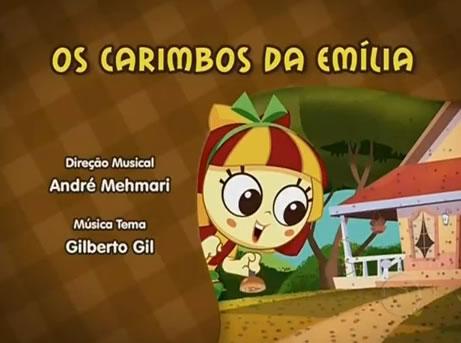 Os carimbos da Emília