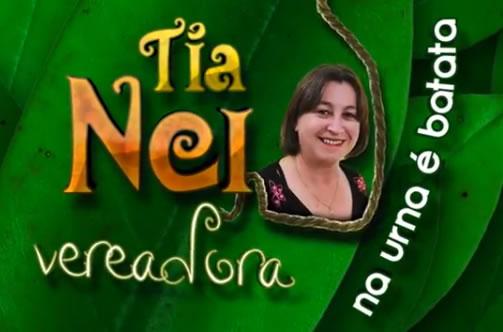 Tia Nei - Na urna é batata
