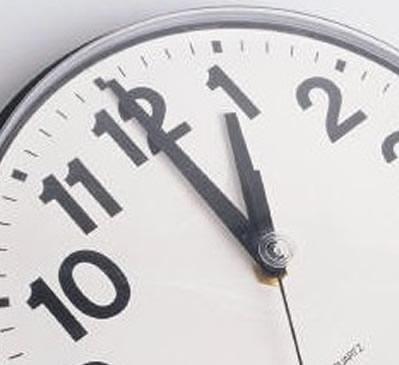 Alterar horário de verão 2012