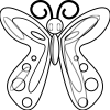 Desenho para colorir borboleta (21)