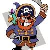 O Pirata Perna de Pau