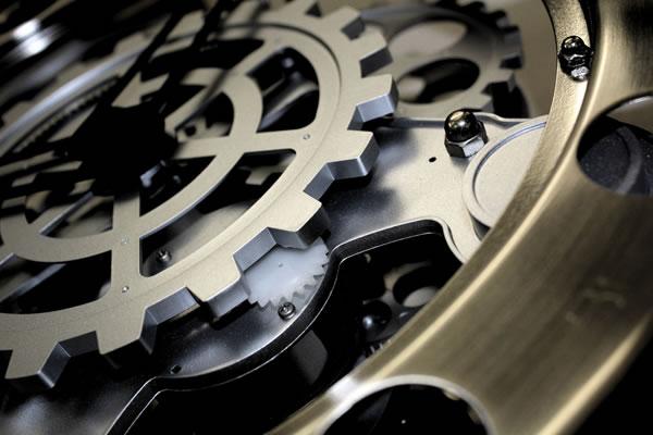 A engrenagem do relógio