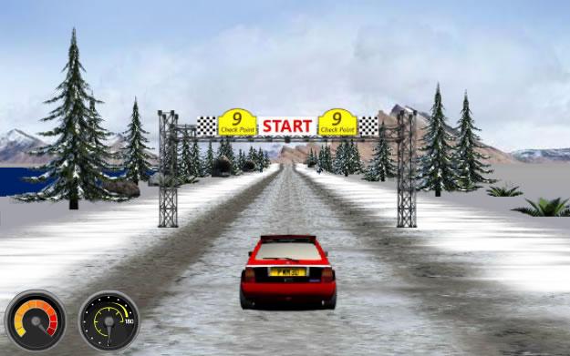 Super Challenge Rally - Jogo de corrida