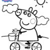 Desconto colorir Peppa Pig 10