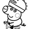 Desconto colorir Peppa Pig 12