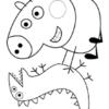 Desconto colorir Peppa Pig 19