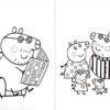 Desconto colorir Peppa Pig 20
