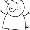 Desconto colorir Peppa Pig 24