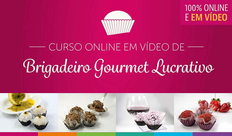 Curso de Brigadeiro Gourmet Online pode ser o início do seu negócio próprio